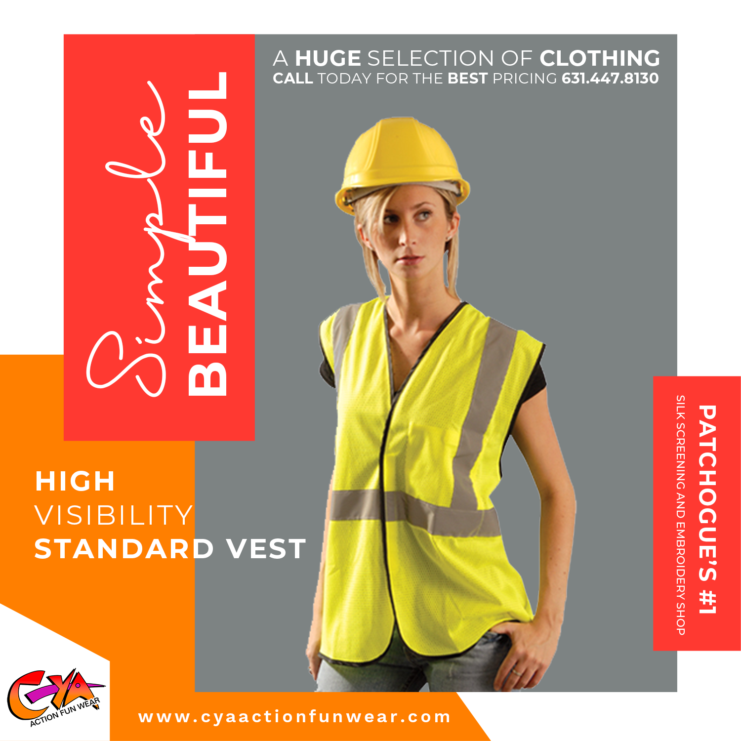 Best Visibilty Vests Patchogue New York